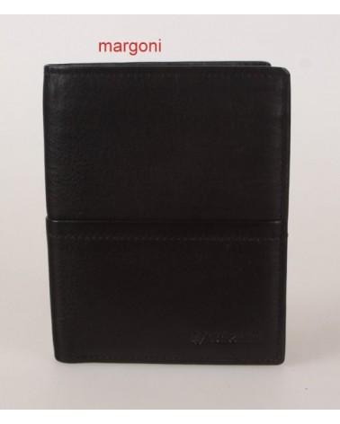 PORTFEL MĘSKI VALENTINI BLACK&RED 154-266 CZARNY