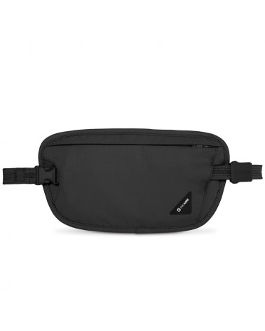 Pacsafe Coversafe X100 dyskretny, antykradzieżowy portfel - czarny