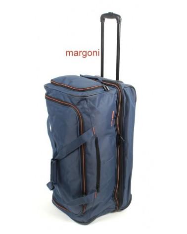 Duża torba podróżna na kółkach travelite 096276 niebieska
