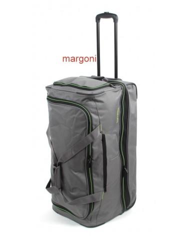 Duża torba podróżna na kółkach travelite 096276 szara