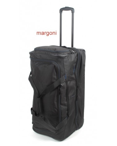 Duża torba podróżna na kółkach travelite 096276 czarna