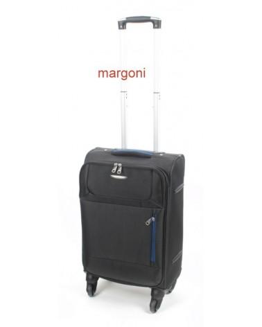 MAŁA walizka m. viaggiatore 20 mv006 czarna