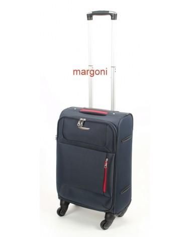 Mała walizka m. viaggiatore 20 mv006 NIEBIESKA
