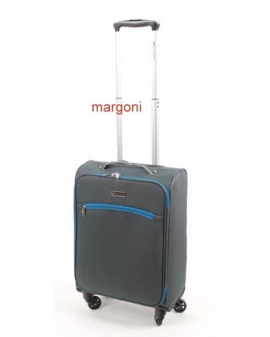 Mała walizka sumatra elegance 20 6121 szaro-niebieska