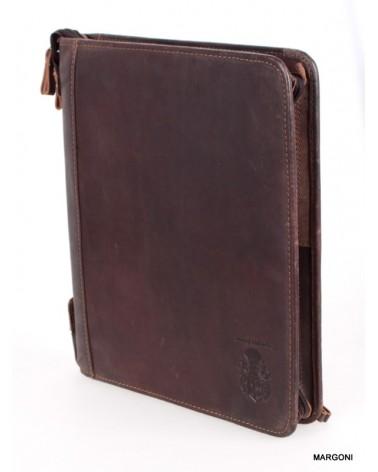 Biwuar skórzany margoni 841 c.brązowy