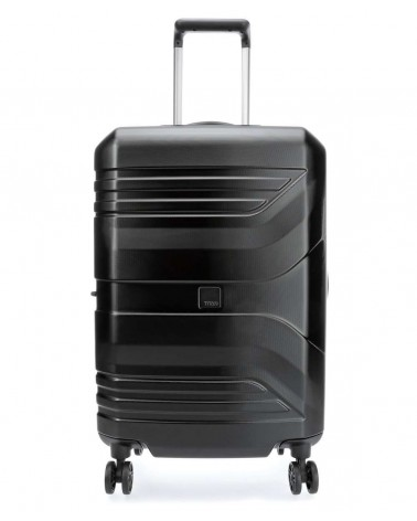 Średnia walizka prior 24 spinner black