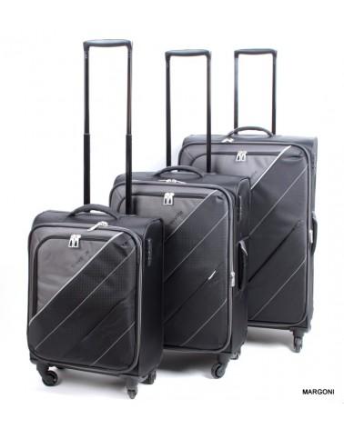 Duża walizka TRAVELITE 28 COCKTAIL 89649-01 czarna