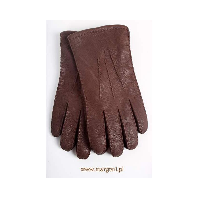 41c948d3107fb Rękawiczki męskie skórzane - Margoni