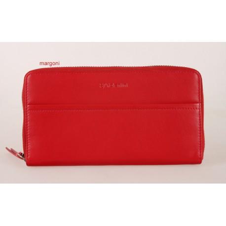 c18d22ac27943 Portfel damski valentini 154-866 czerwony - Portfele damskie ...
