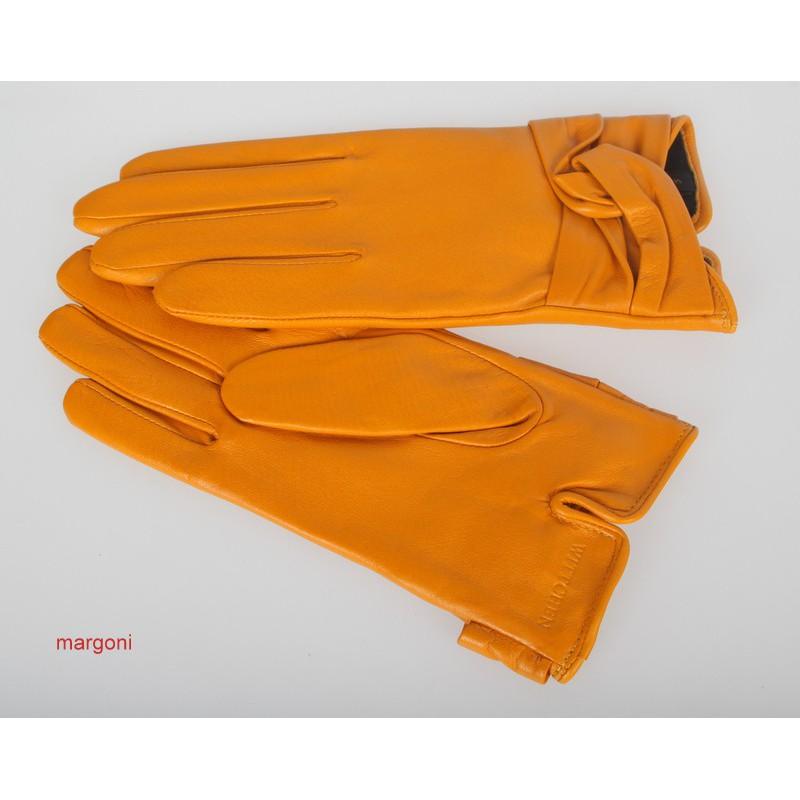 f4524c82290941 Rękawiczki damskie wittchen 39-6-218-y żółte - Rękawiczki damskie -  Rękawiczki - Galanteria i dodatki - Margoni