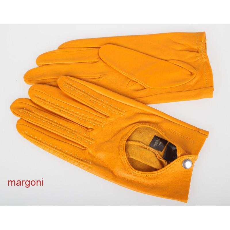 a3174523761b27 Rękawiczki damskie wittchen 46-6-290-y żółte samochodowe ...