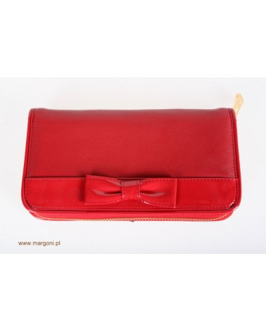 PORTFEL DAMSKI VALENTINI LW-92160B czerwony