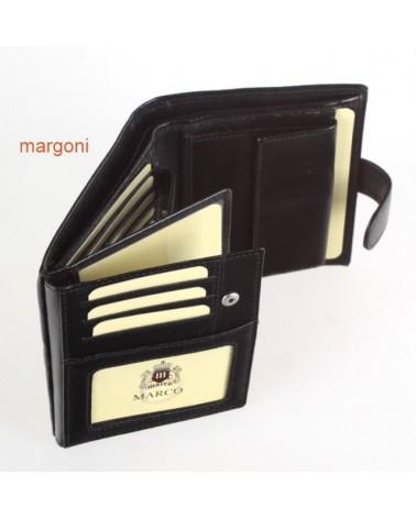 PORTFEL MĘSKI MARGONI PM-616B CZARNY