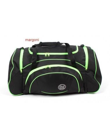 Torba podróżna margoni tp-4 czarno-zielona