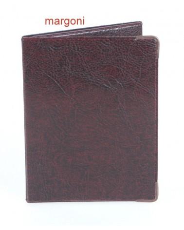 Etui na dokumenty margoni 1754 brązowe