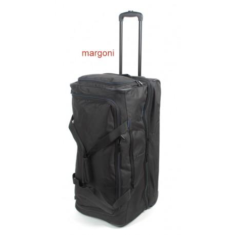 76f2432a6cbfb Duża torba podróżna na kółkach travelite 096276 czarna - Torby ...