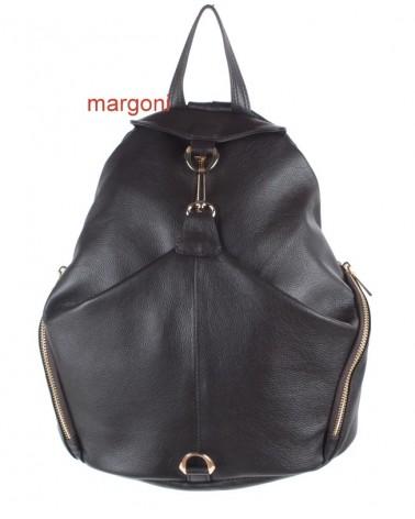 Plecak damski skórzany margoni 510 c.brązowy