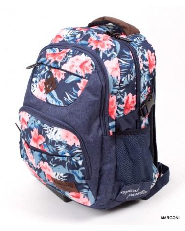 Plecak szkolny-miejski head hd-21 kwiaty