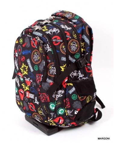 Plecak szkolny st-reet bp-01 badges