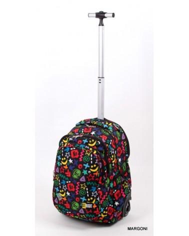 Plecak szkolny na kołach st-reet tb-01 Yes or Not + Gratis