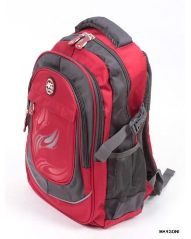 Plecak szkolno-miejski pl-1513 czerwony