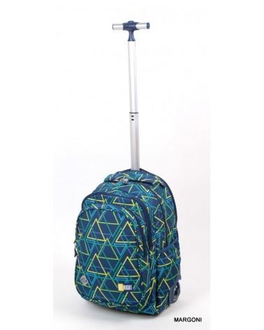 Plecak szkolny na kołach st-reet tb-01 kaleidoscope + Gratis