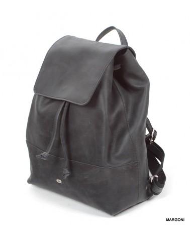 Plecak skórzany DAAG FUNKY GO 21 czarny