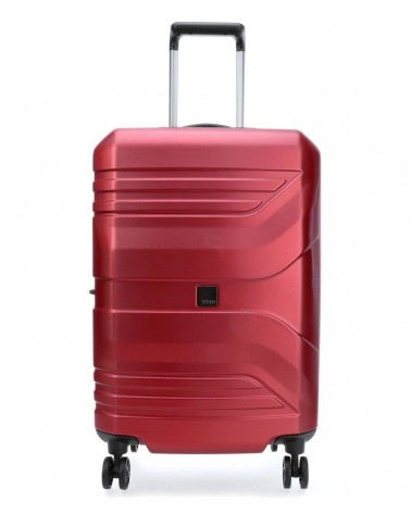 średnia walizka prior 24 spinner red