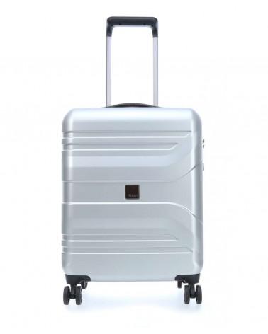 Mała walizka prior 20 spinner silver