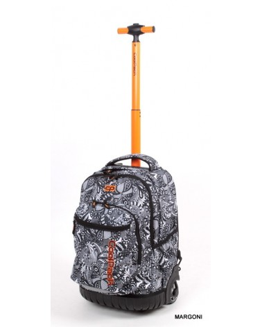 Plecak szkolny na kółkach coolpack swift 34 czarny + Gratis