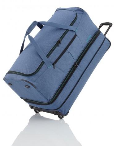 Duża torba na kołach travelite Basics 96300-20 niebieska