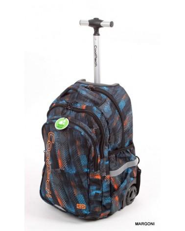 Plecak szkolny na kółkach coolpack junior 34 tire tacks + Gratis