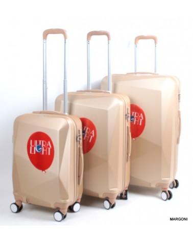 Duża walizka sumatra 28 casso 1011 szampan