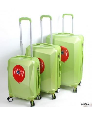 Duża walizka sumatra 28 casso 1011 zielona