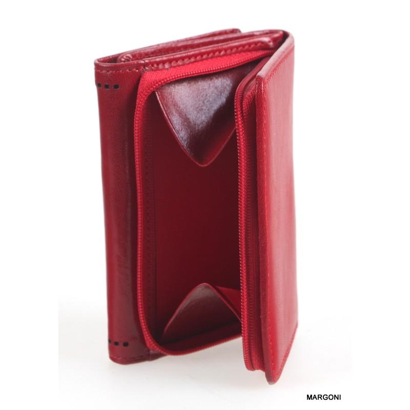 47094b2e92e04 Portfel damski Canaletto 1233 czerwony - Portfele damskie ...