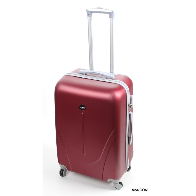 c508bf1a34fac Średnia walizka gravitt 24 abs 1705 bordowa - Bagaż - Margoni