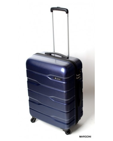 Średnia walizka Carlton Cayenne 24 str 65 granat