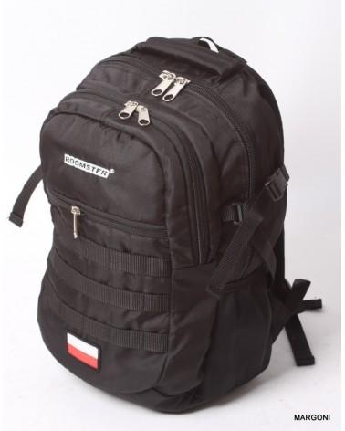 Plecak młodzieżowy army survival roomster m-1 czarny