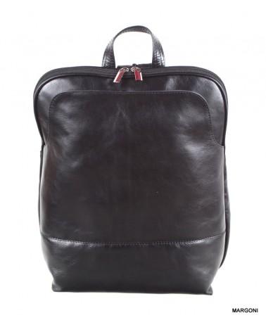 Plecak skórzany damski margoni 515d czarny