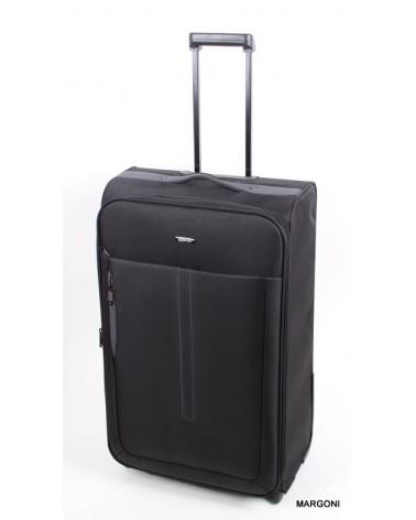 Duża walizka m. viaggiatore 28 mv201 czarna