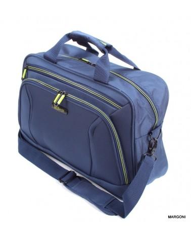 Torba podróżna viaggiatore 16 mv102 niebiesko-zielona