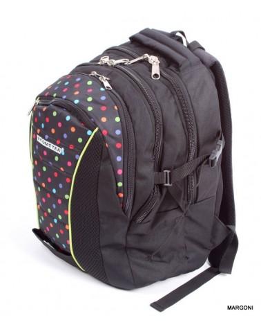 Plecak szkolny roomster m-3 kropki