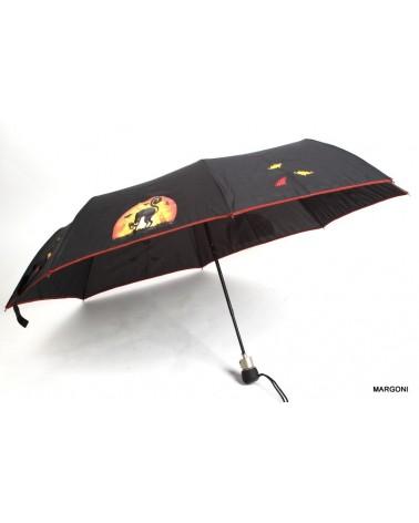 Parasol damski półautomatyczny airton 3612 czarny