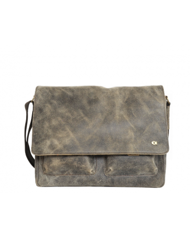 Skórzana torba na ramię JAZZY RISK 162 brąz