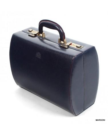 Kufer damski skórzany perfekt jk-1 granat