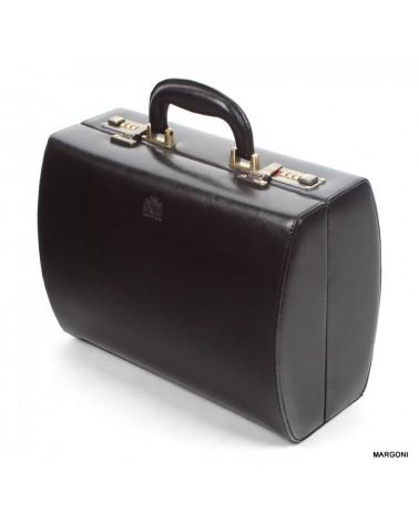 Kufer damski skórzany perfekt jk-1 czarny