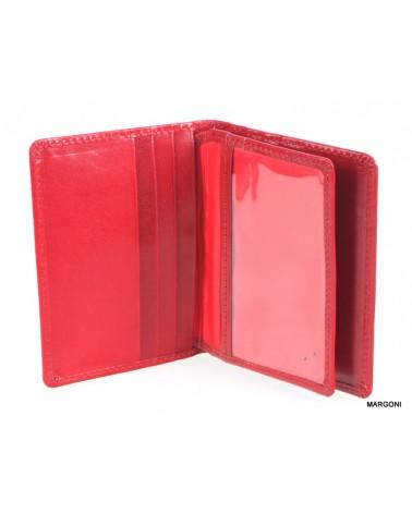 Etui na dokumenty-karty BELLUCCI OD-5 czerwony