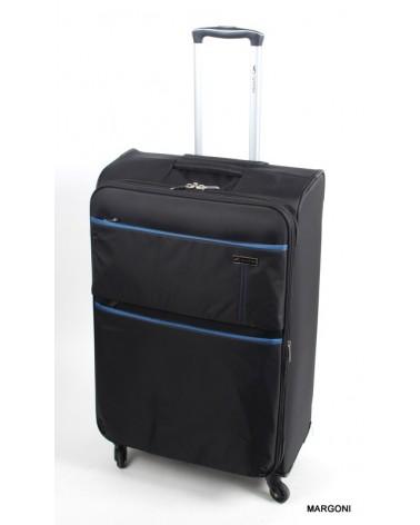 Duża walizka sumatra senator 6061a black-blue