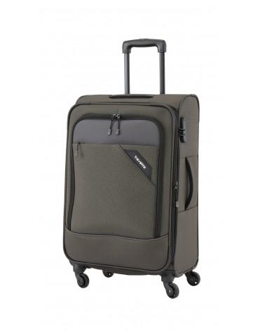 Duża walizka Travelite 28 Derby szara