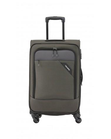 Średnia walizka travelite 24 derby szara